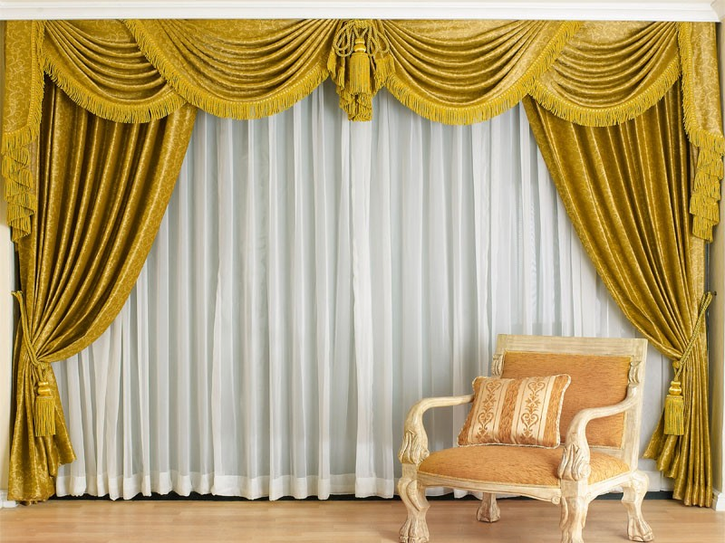 Motorized sheer Curtains